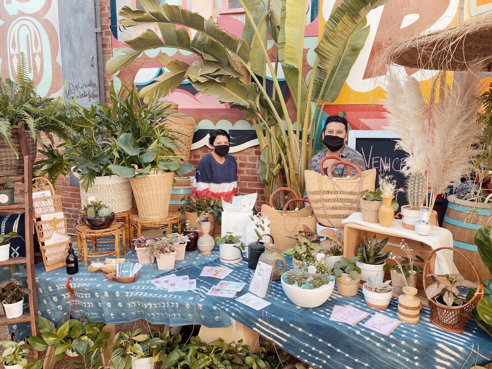 De Buena Planta pop-up holiday market