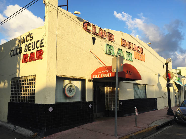 Let loose at Mac's Club Deuce