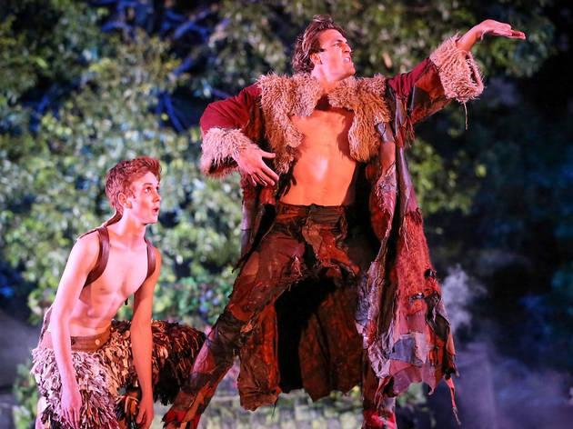 A still from Australian Shakespeare Company's A Midsummer Night's Dream