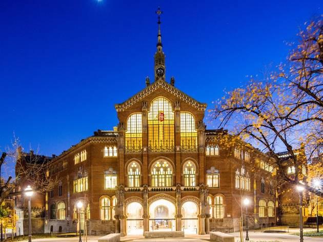 Façana de Sant Pau Recinte Modernista