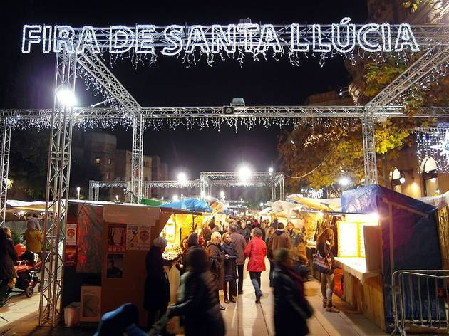 Fira de Santa Llúcia de Barcelona