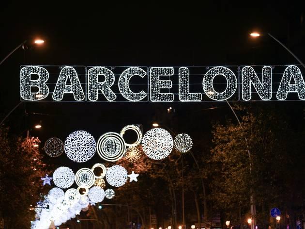 Llums de Nadal a Barcelona