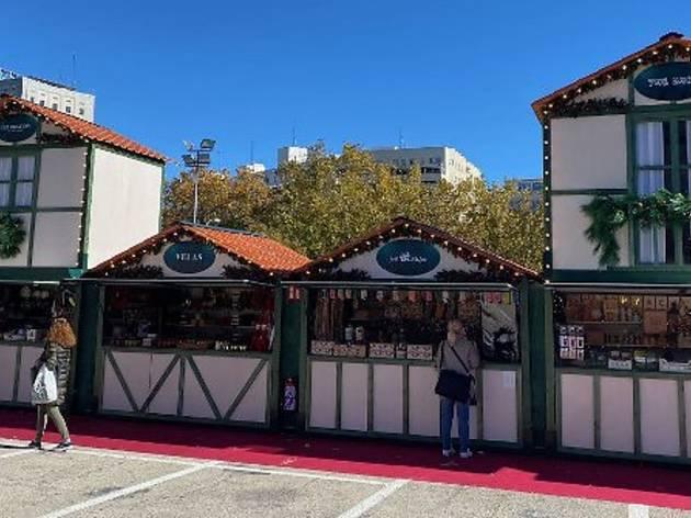 Mercadillo navidad El Corte Inglés Castellana