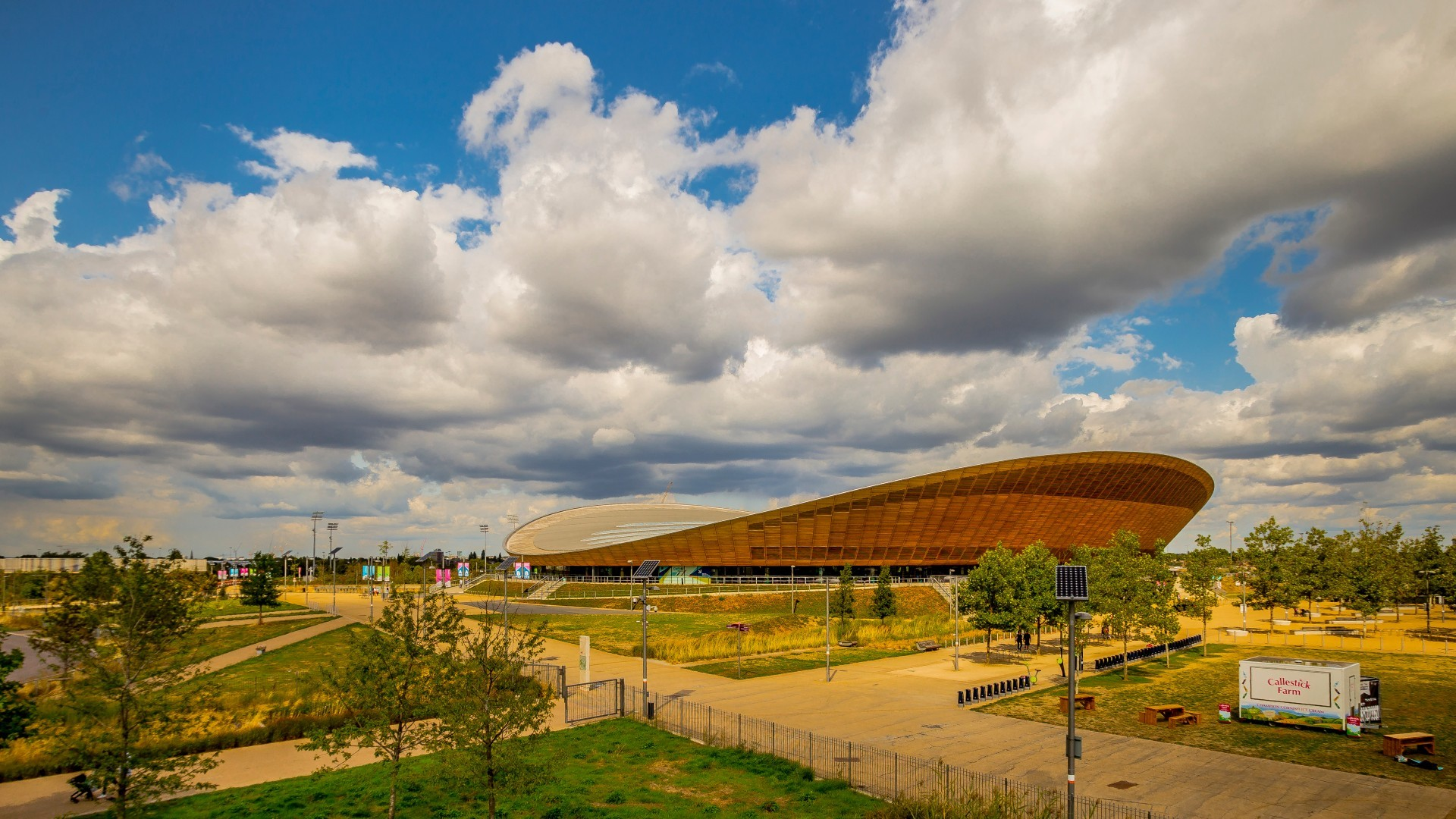 London's Olympic Park is getting a blossom memorial garden for victims of the pandemic