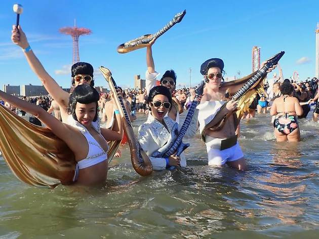 The Coney Island Polar Bear Plunge is not happening this year