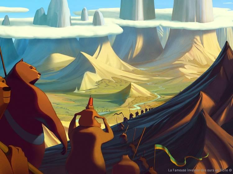 'La famosa invasión de los osos en Sicilia', de Lorenzo Mattotti