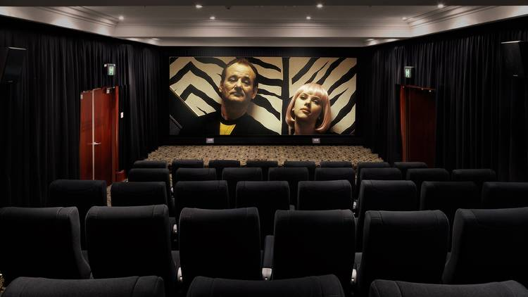 Lost in Translation on screen in a theatre