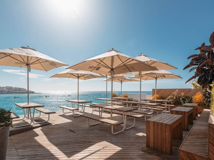 Check out Icebergs' new terrace bar