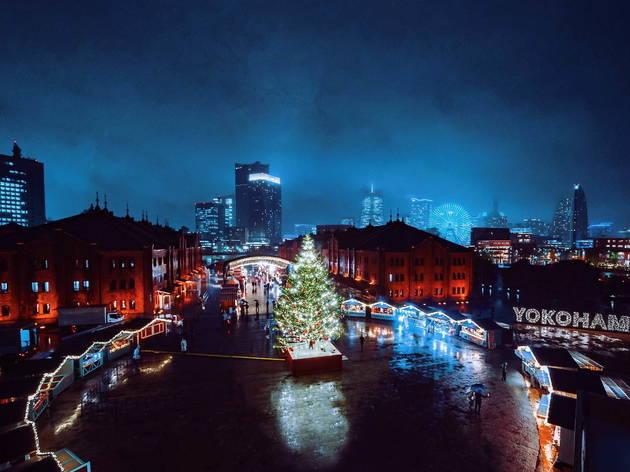 Yokohama Red Brick Warehouse Christmas Market
