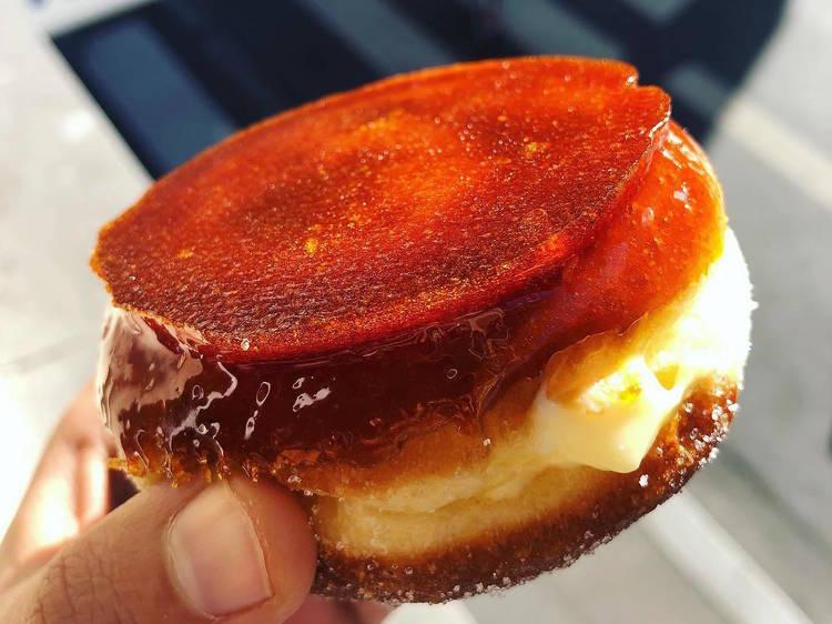Le beignet crème brûlée de Mamiche
