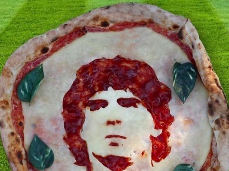 Les pizzas du Chateaubriand & du Cave