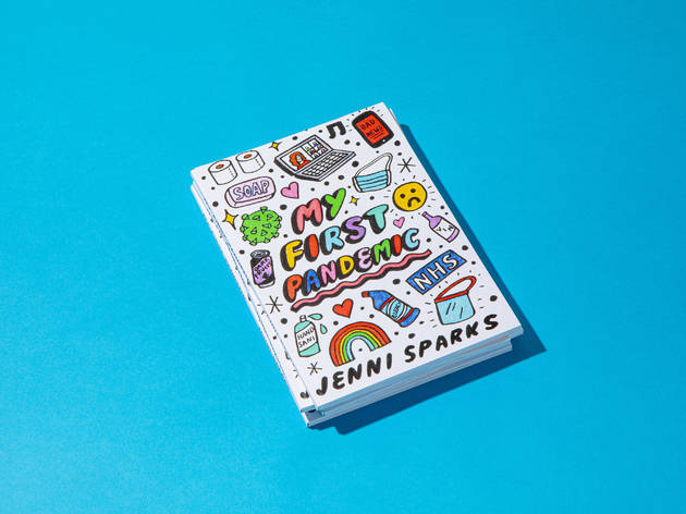 my first pandemic zine, jenni sparks
