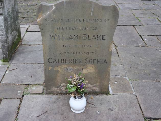 bunhill graveyard, william blake