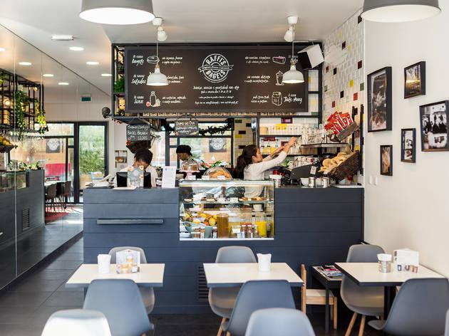 Restaurante, Cozinha Americana, Raffi's Bagels