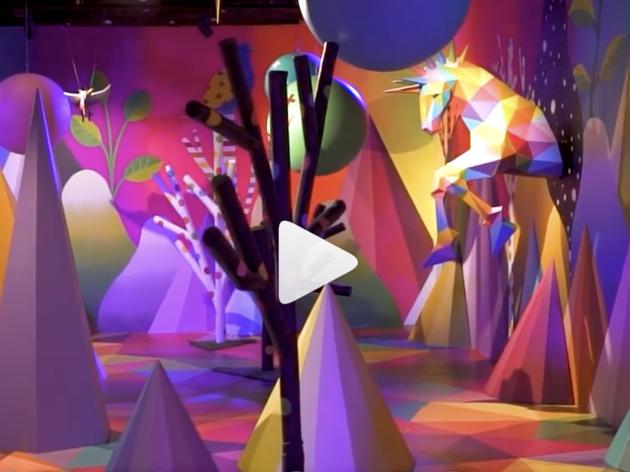 Sweet Space museum video