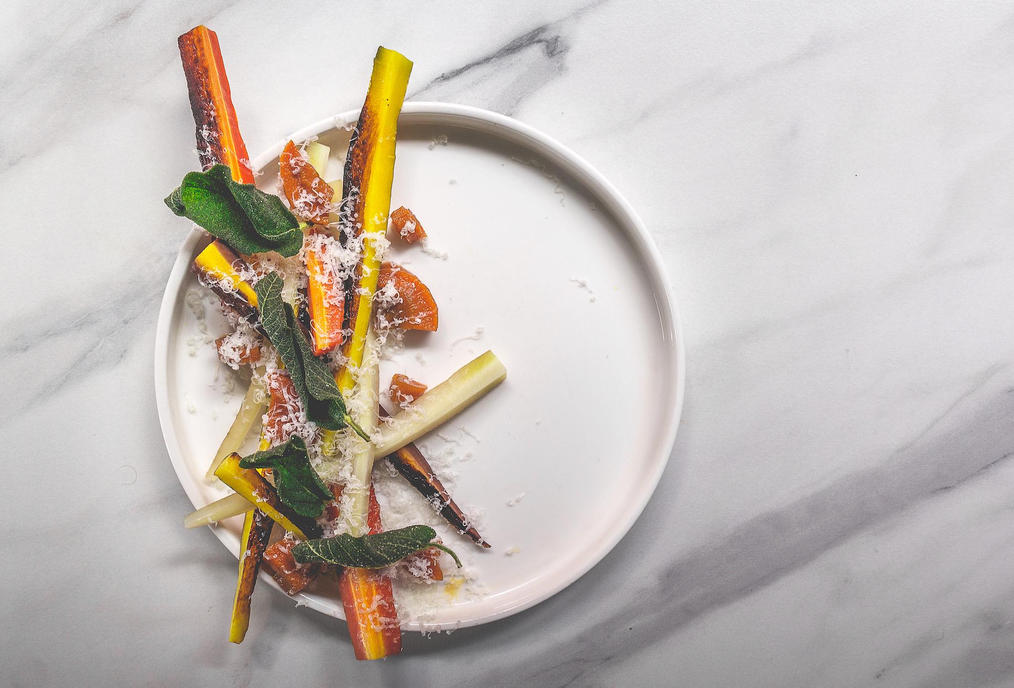 How to make Smoke and Salt's salt-baked carrot recipe
