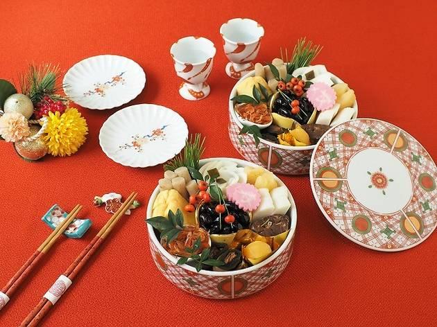 『関西祝い肴三種を入れたおせち』(1,120円)