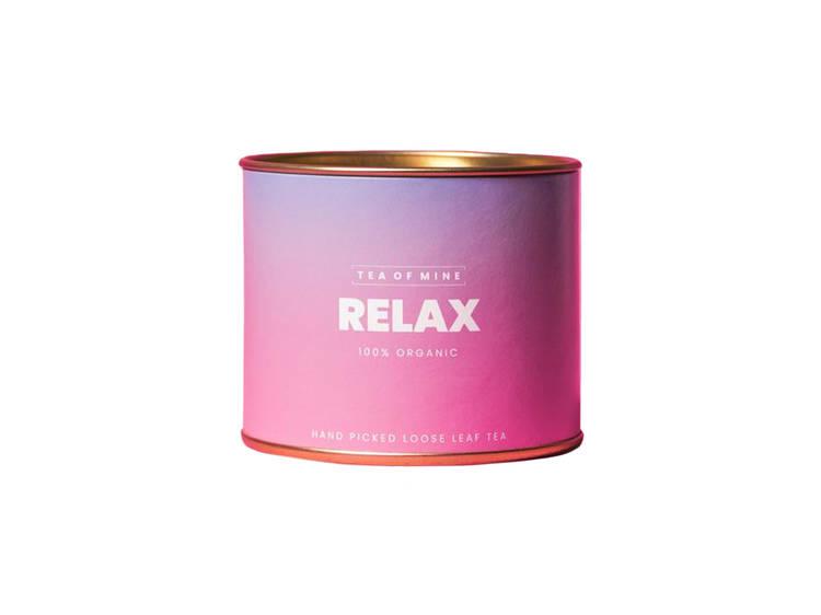 Chá Relax da Tea of Mine