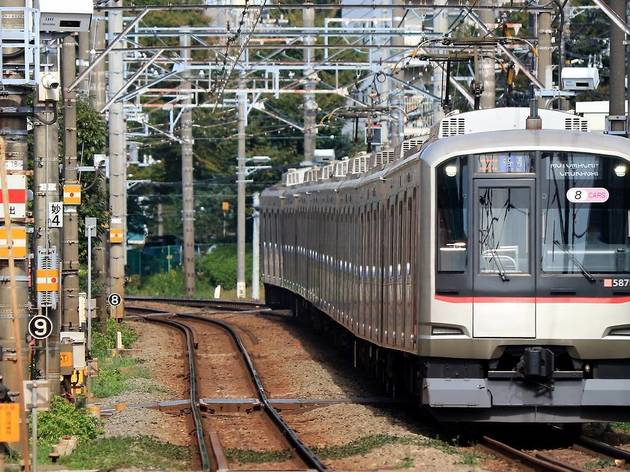 Tokyu Toyoko line