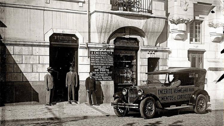 O Pátio das Antigas, Lisboa Antiga, A Enceradora
