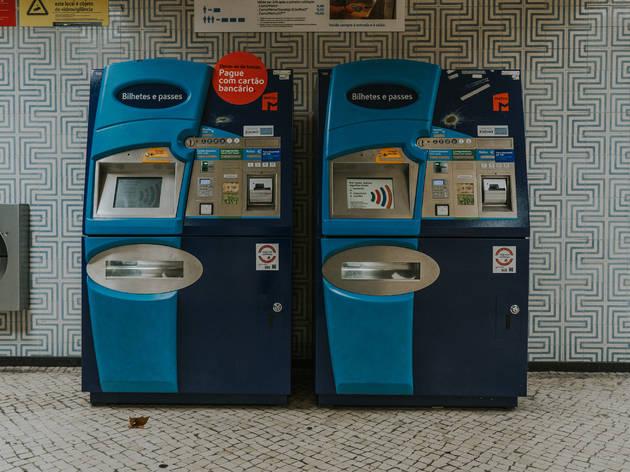 máquinas de venda automática de bilhetes