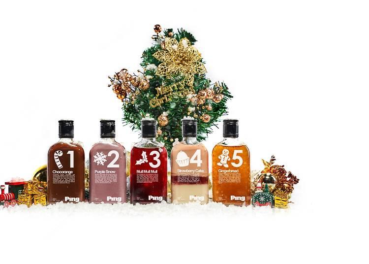 Ping 聖誕限定版雞尾酒禮盒