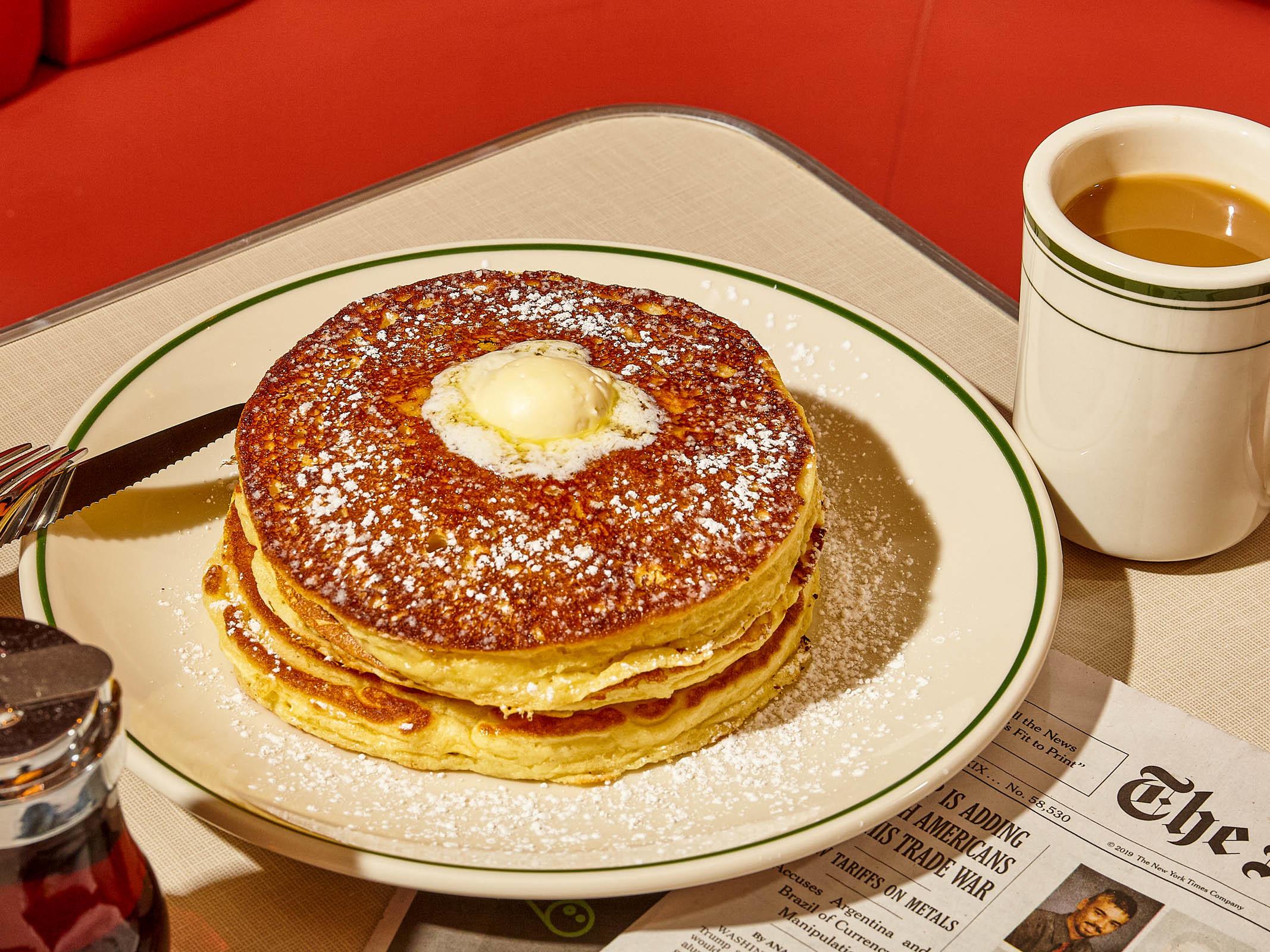 Soho Diner pancakes