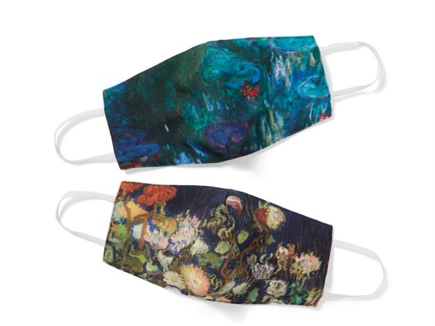Floral impression face masks The Met Museum