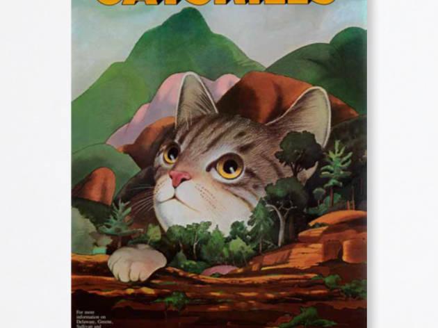 Milton Glaser Catskills poster Poster House