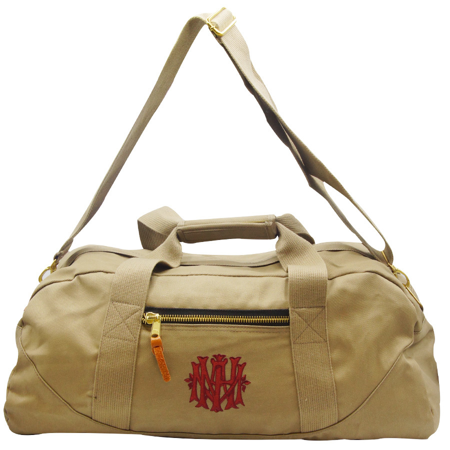 AMNH weekender bag