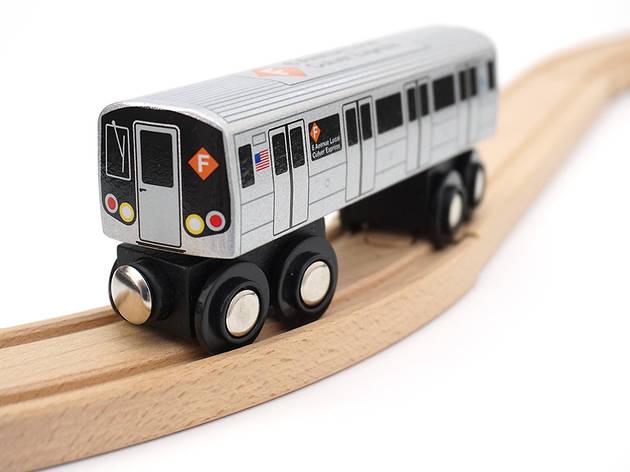 NYC Transit Museum train