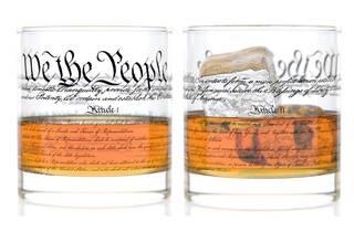 CONSTITUTION ROCKS GLASS new-york historical society