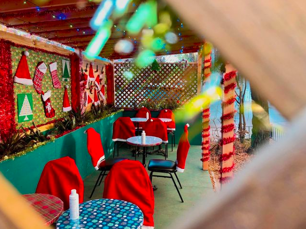 NYC's most festive outdoor dining set-ups for the holidays