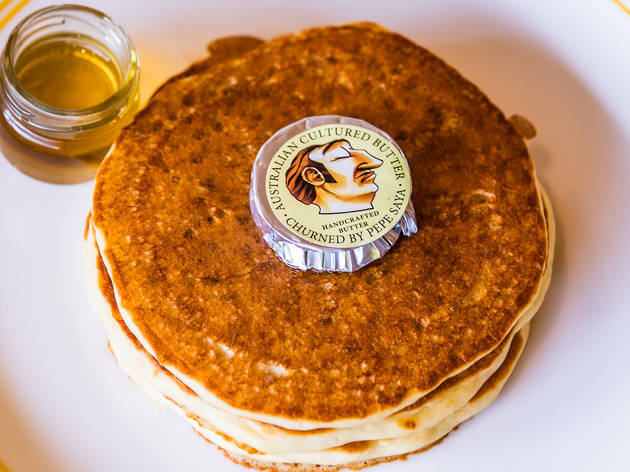 Pancakes at Happyfield