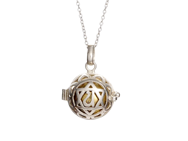 Flo's Heart Chakra Harmony Ball Necklace