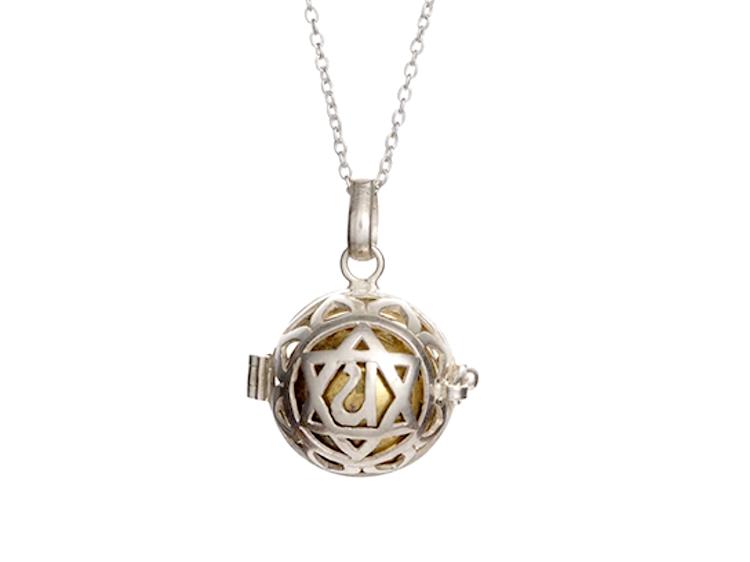 Flo's Heart Chakra Harmony Ball Necklace