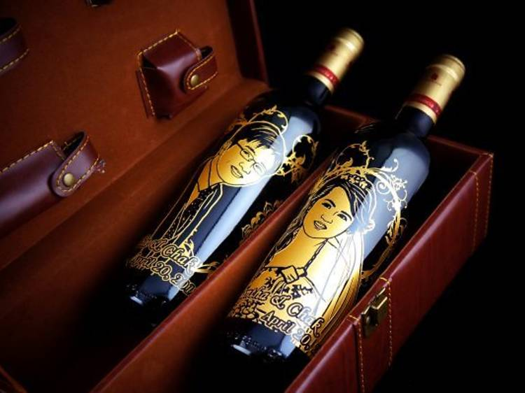 Liquidz's customised bottle