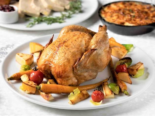 Grand Hyatt Roast Chicken