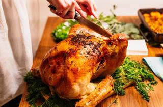 Roast turkey – stock photo