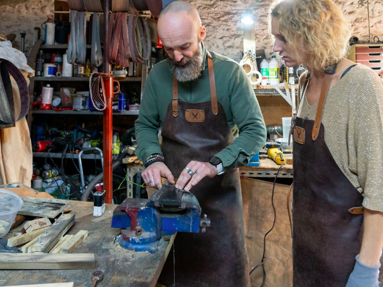 Un couteau de table sur mesure, en mode DIY (Villiers-Adam)
