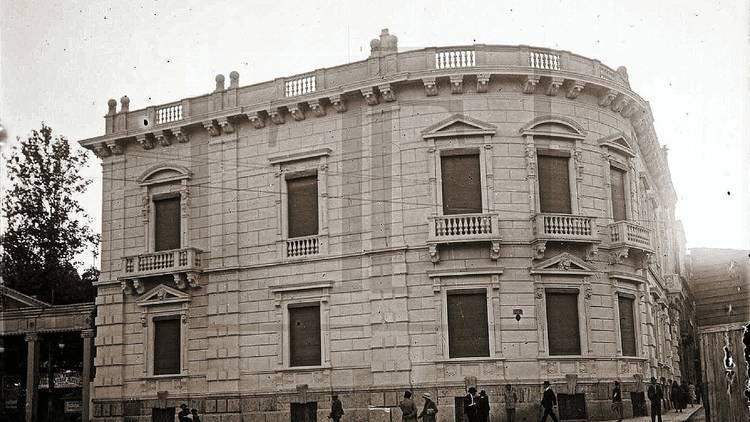 Pátio das Antigas, Lisboa Antiga, Palácio Mayer