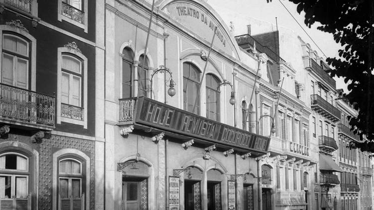 Pátio das Antigas, Lisboa de Antigamente, Teatro Avenida
