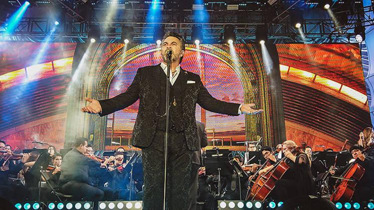 Mijares se suma a la ola de conciertos Irrepetible con su show sinfónico