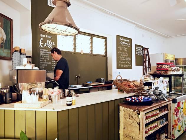 Darlo General coffee counter