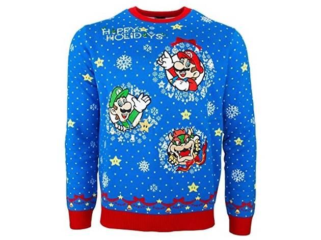 Ugly Sweater Mario Bros