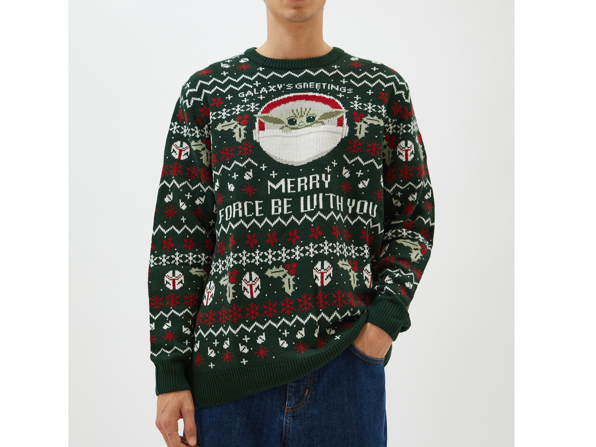 Ugly Sweater Baby Yoda