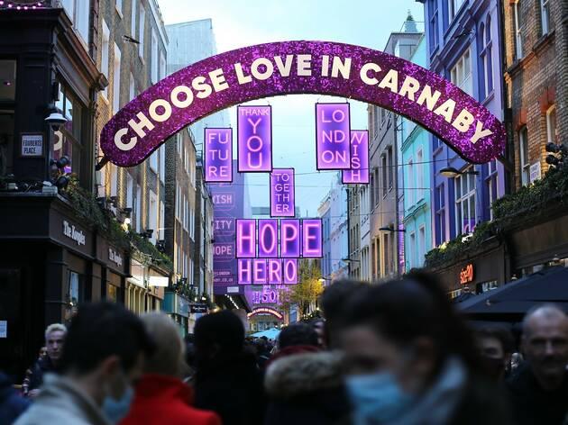 carnaby street christmas 2020