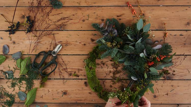 How to fill your home with festive foliage