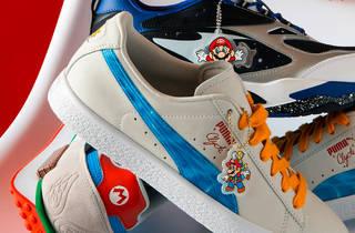 Puma y Super Mario