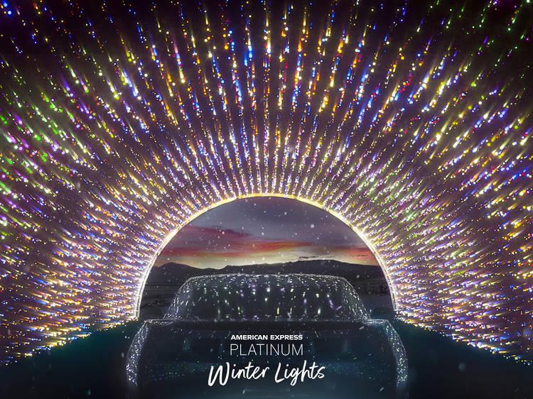 American Express Platinum Winter Lights